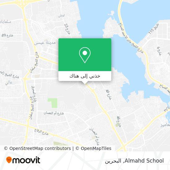 خريطة Almahd School