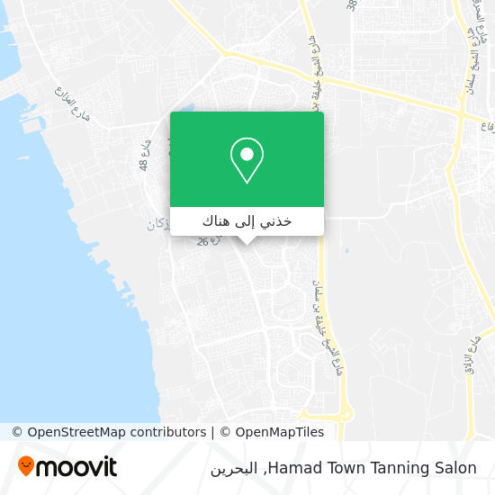 خريطة Hamad Town Tanning Salon