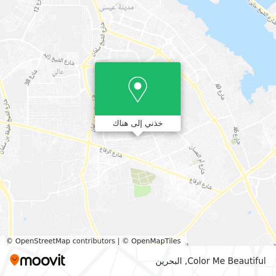 خريطة Color Me Beautiful