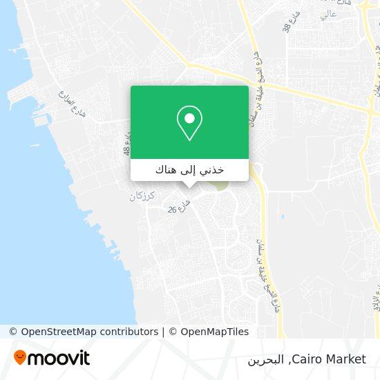 خريطة Cairo Market