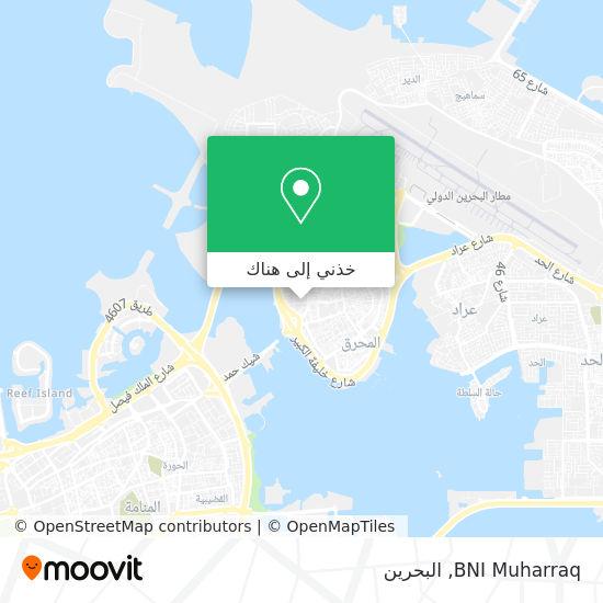 خريطة BNI Muharraq