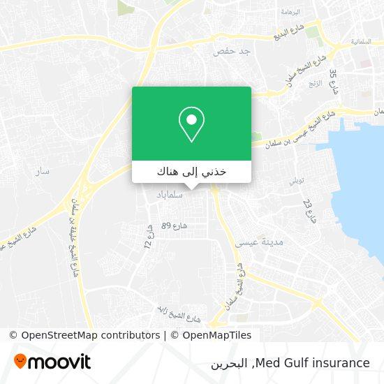 خريطة Med Gulf insurance