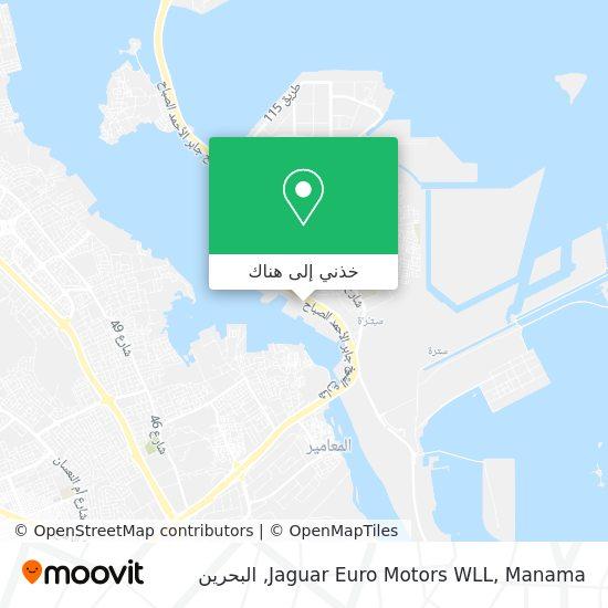 خريطة Jaguar Euro Motors WLL, Manama