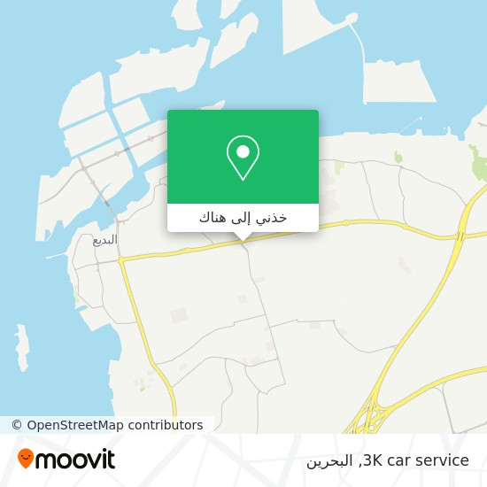 خريطة 3K car service
