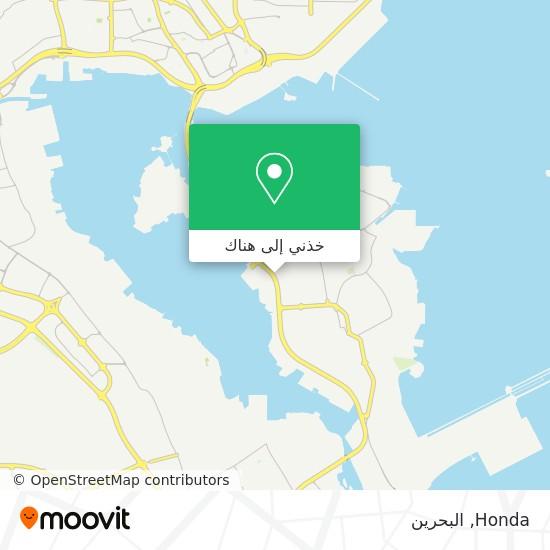 خريطة Honda