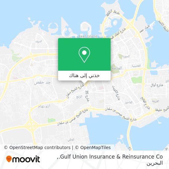 خريطة Gulf Union Insurance & Reinsurance Co.