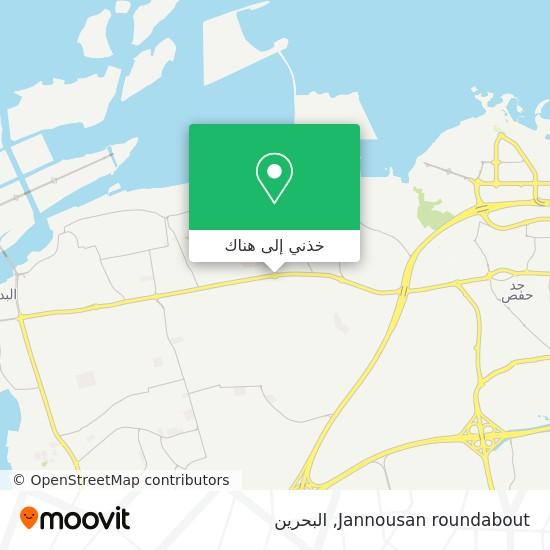 خريطة Jannousan roundabout