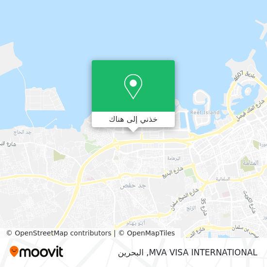 خريطة MVA VISA INTERNATIONAL
