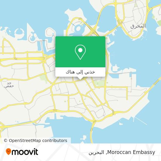 خريطة Moroccan Embassy