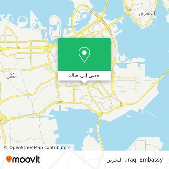 خريطة Iraqi Embassy