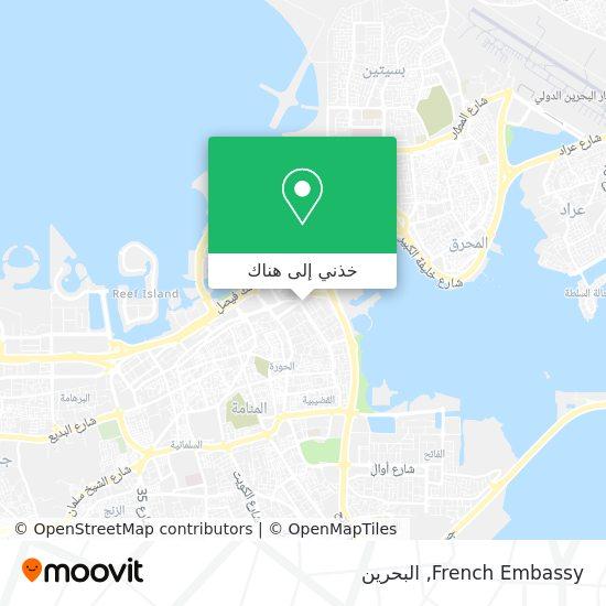 خريطة French Embassy