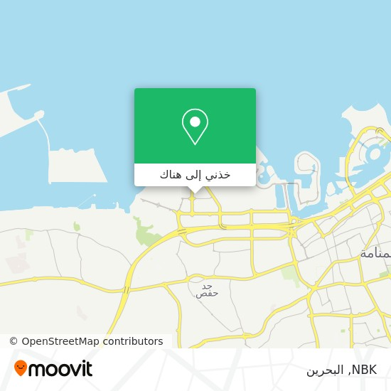 خريطة NBK