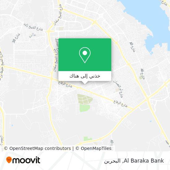 خريطة Al Baraka Bank