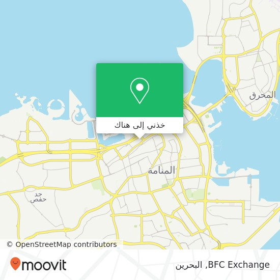 خريطة BFC Exchange