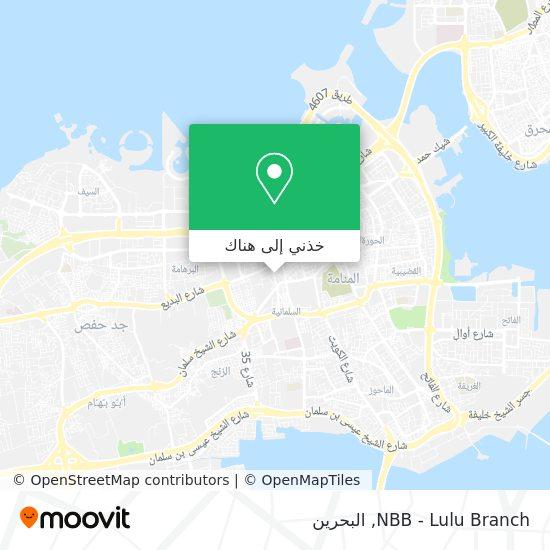 خريطة NBB - Lulu Branch