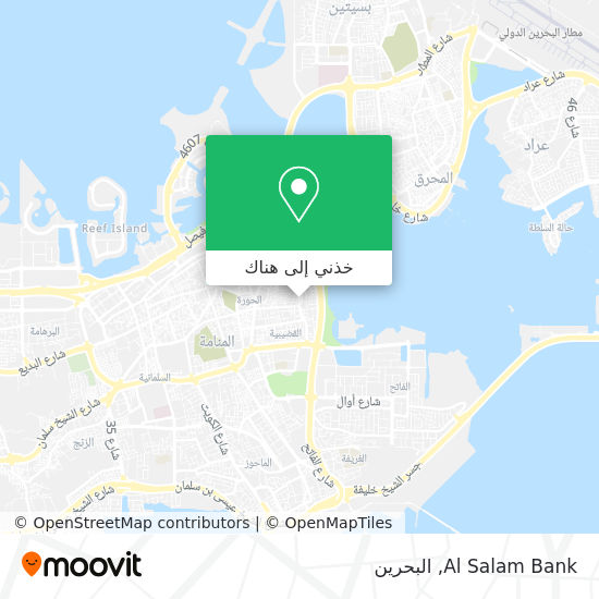 خريطة Al Salam Bank