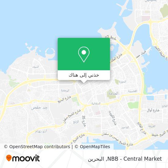 خريطة NBB - Central Market