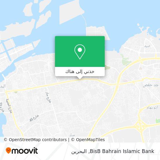 خريطة BisB Bahrain Islamic Bank