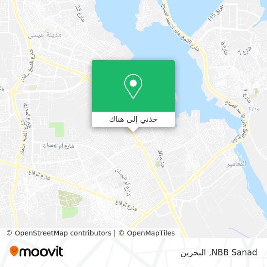 خريطة NBB Sanad