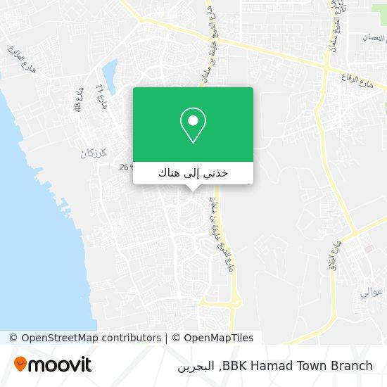 خريطة BBK Hamad Town Branch