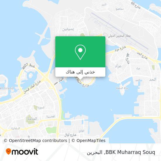 خريطة BBK Muharraq Souq