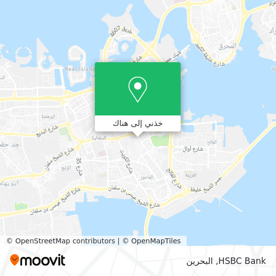 خريطة HSBC Bank