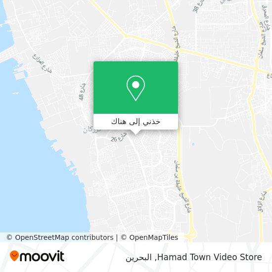 خريطة Hamad Town Video Store