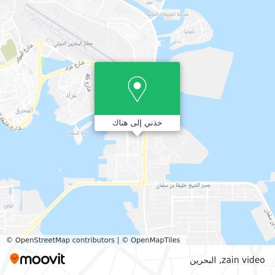 خريطة zain video