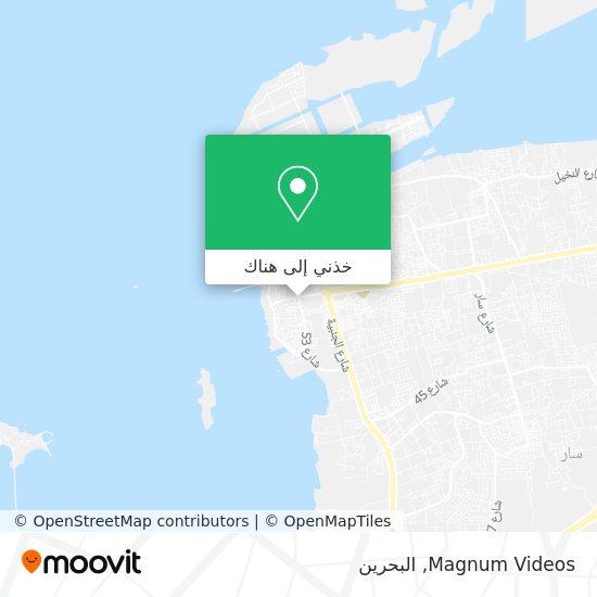 خريطة Magnum Videos