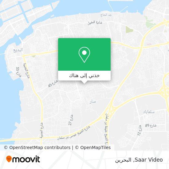 خريطة Saar Video