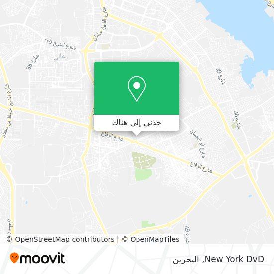 خريطة New York DvD
