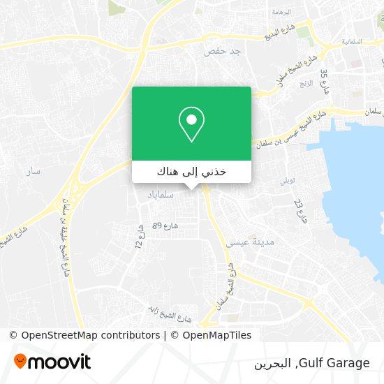 خريطة Gulf Garage