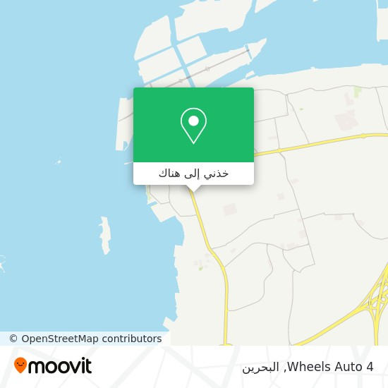 خريطة 4 Wheels Auto