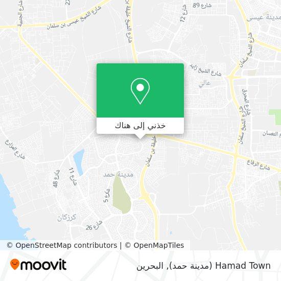 خريطة Hamad Town (مدينة حمد)