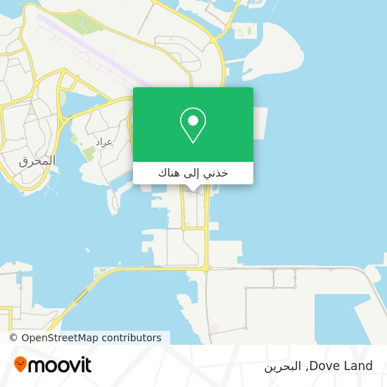 خريطة Dove Land