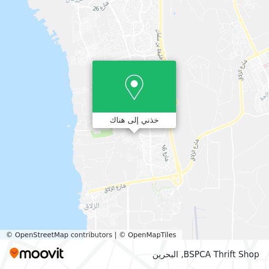 خريطة BSPCA Thrift Shop