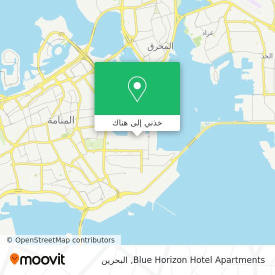 خريطة Blue Horizon Hotel Apartments