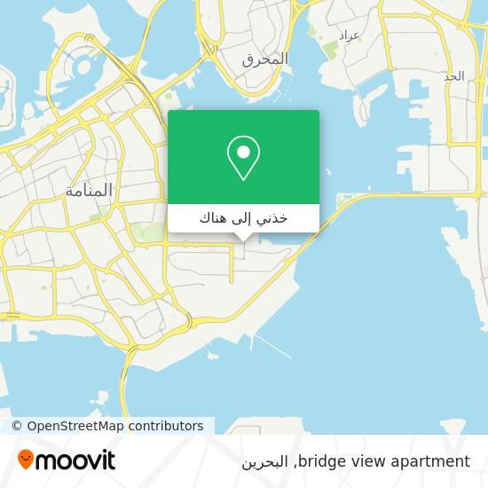خريطة bridge view apartment