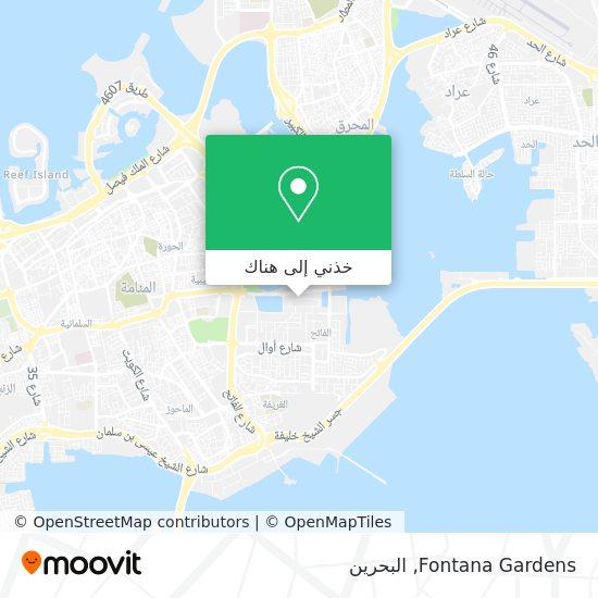 خريطة Fontana Gardens