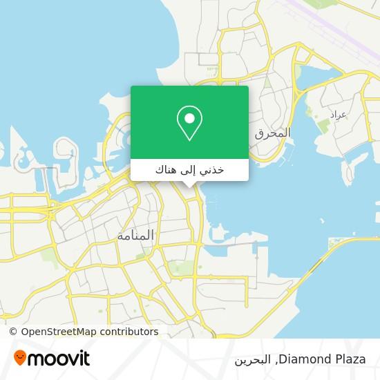 خريطة Diamond Plaza