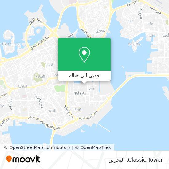 خريطة Classic Tower