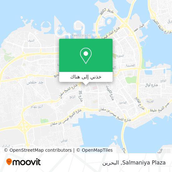 خريطة Salmaniya Plaza