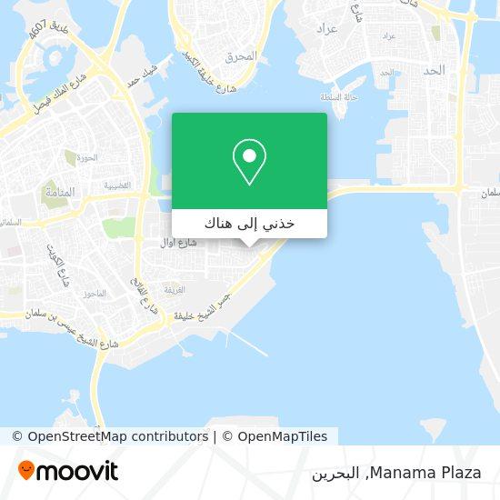 خريطة Manama Plaza