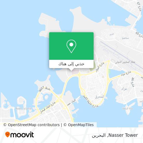 خريطة Nasser Tower