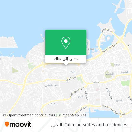 خريطة Tulip inn suites and residences