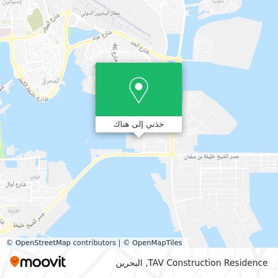 خريطة TAV Construction Residence