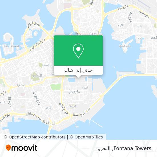 خريطة Fontana Towers
