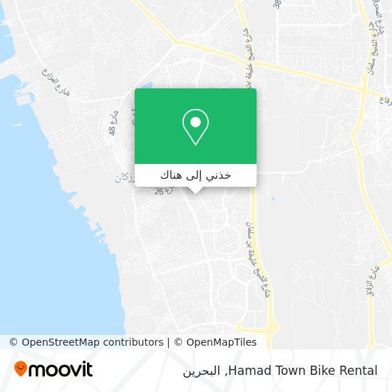 خريطة Hamad Town Bike Rental