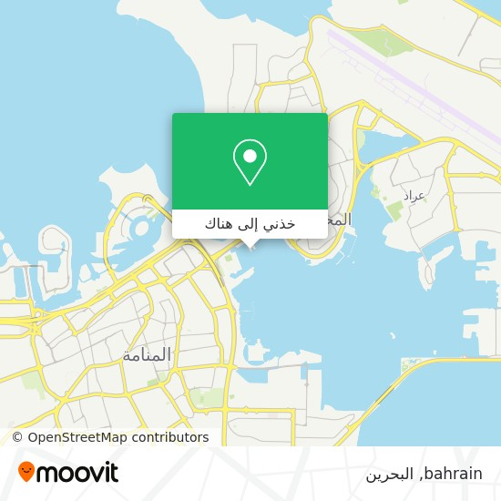 خريطة bahrain