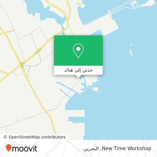 خريطة New Time Workshop